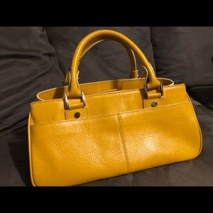 Mustard Yellow Leather bag Nordstrom